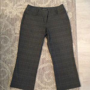 Express Design Studio Editor Cropped Pants